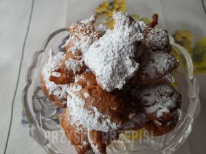 poszarpańce (mini-pączki serowe)