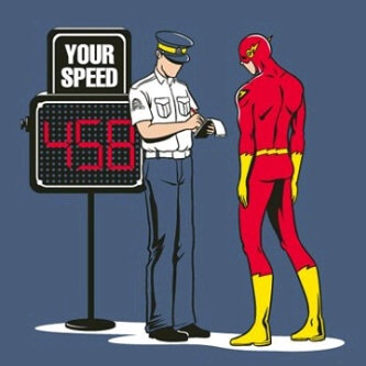 :D: Funny Cartoon, Theflash, Speed Ticket, The Flash, Funny Illustrations, Teen Titanic, Super Heroes, Flash Gordon, Superhero