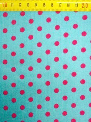BB-stip aqua-pink M