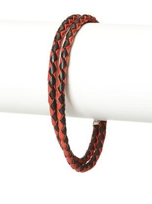 53% OFF Mateo Bijoux Black/Red Rope Stanchion Double Wrap Bracelet