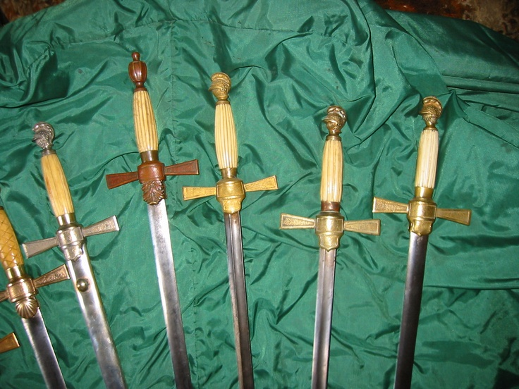 US 1840 Civil War militia swords