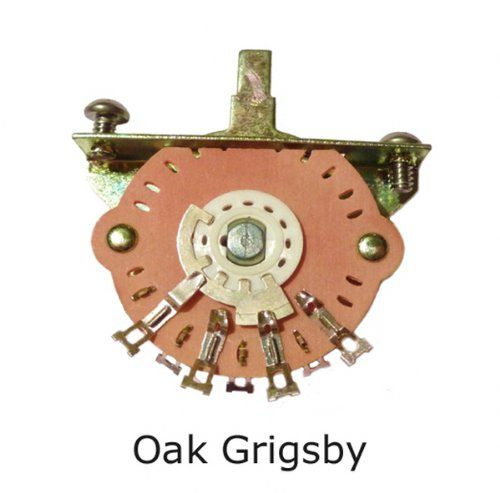 From 10.88:Genuine Oak Grigsby 3-way Selector Switch Fender Usa Telecaster Tele