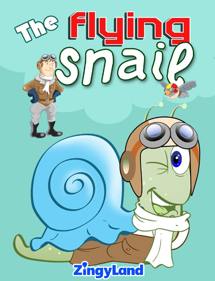 The flying snail http://youtu.be/DWcEIKR7_FY