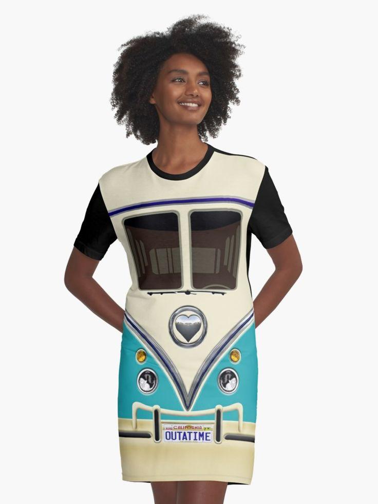 kawaii Blue teal love bug mini bus Graphic T-Shirt Dresses @pointsalestore #GraphicTShirts #dresses #tee #tshirt #clothing #funny #cute #fun #lol #veedub #golf #kombi #minivan #minibus #beetle #bus #camper #retro #splitwindow #van #vintage #bumper #car #lovecar #offroad #campercar #microbus #pickup #transporter