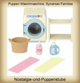 Waschmaschine Für Puppenhaus, Sylvanian Families   Bild Vergrößern