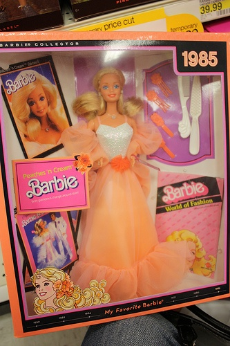 Peaches and Cream Barbie