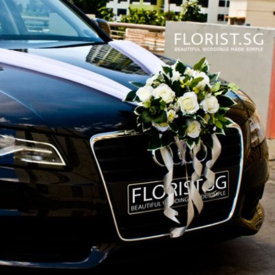 Bridal Car decor