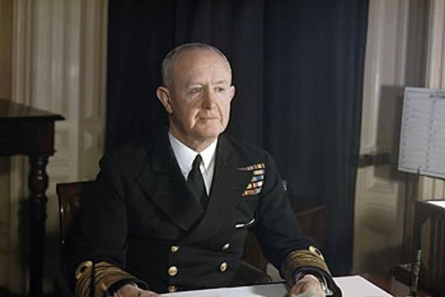 World War II: Admiral of the Fleet Sir Andrew Cunningham
