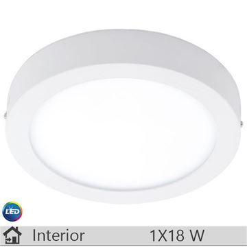 Plafoniera LED iluminat decorativ interior Eglo, gama Fueva, model 94076