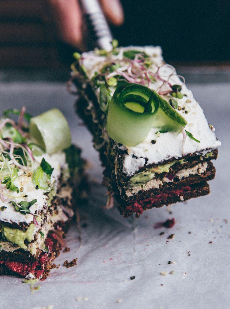 Savoury swedish sandwich cake - Smörgåstårta — Nourish Atelier