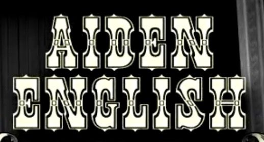 Aiden English logo -WWE