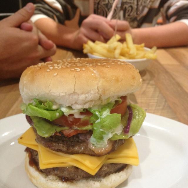 Steers burger