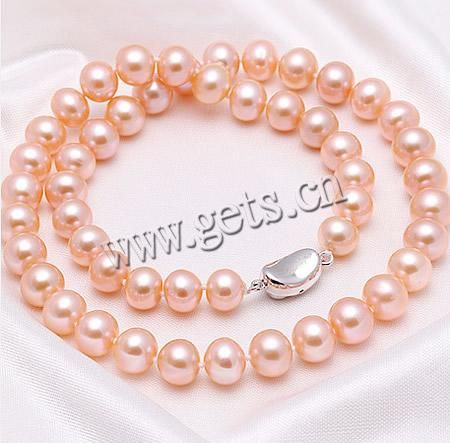 Sterling Silver Pearl Necklace, jewelry  http://www.gets.cn/product/Sterling-Silver-Pearl-Necklace_p764640.html