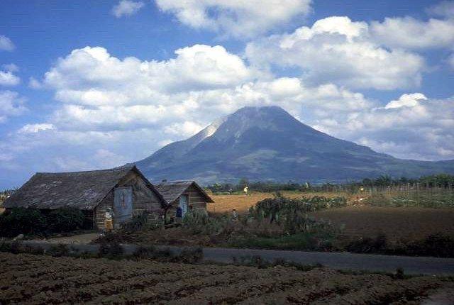 Mount Sinabung, Berastagi Highland, North Sumatra, Indonesia