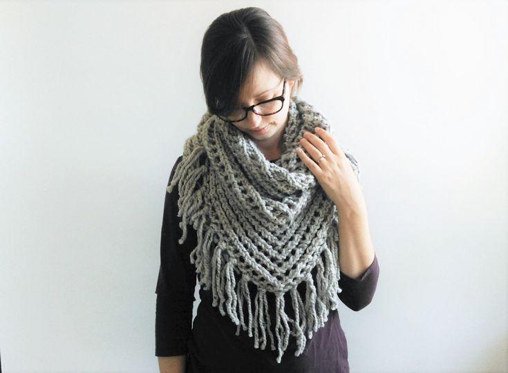 Mejores 70 imágenes de Snoods & foulards en Pinterest | Chales de ...