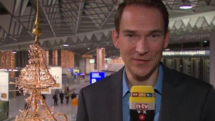 n-tv am Frankfurter Flughafen: Lufthansa-Streik legt nicht nur Flugzeuge lahm
