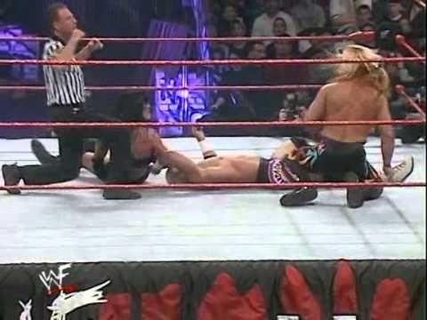 WWE 2000 Royal Rumble   Chyna vs  Chris Jericho vs  Hardcore Holly