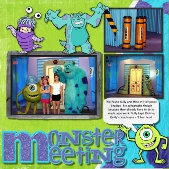 Monster Meeting by fmtinsley - Cards and Paper Crafts at Splitcoaststampers