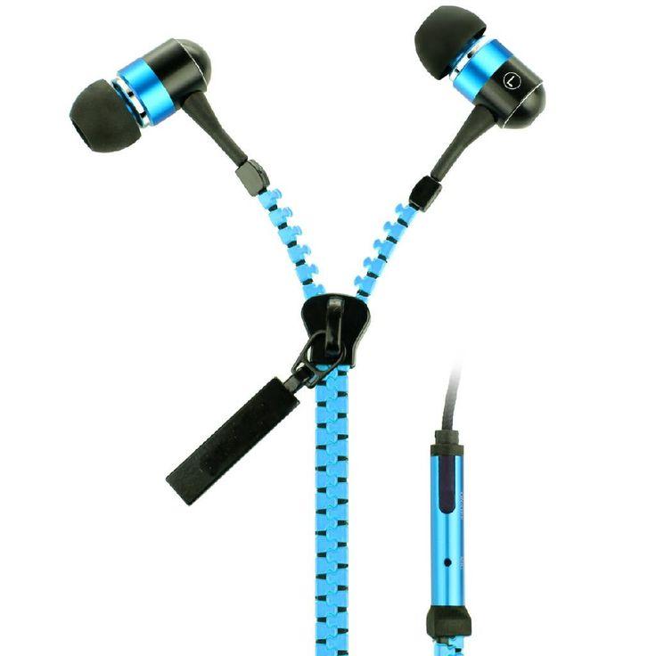 High Quality Stereo Bass Zipper Headset   Gadget BD