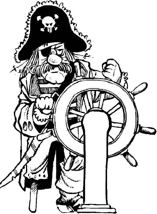 Dibujos para colorear Miscellaneous 32 Pirate crafts