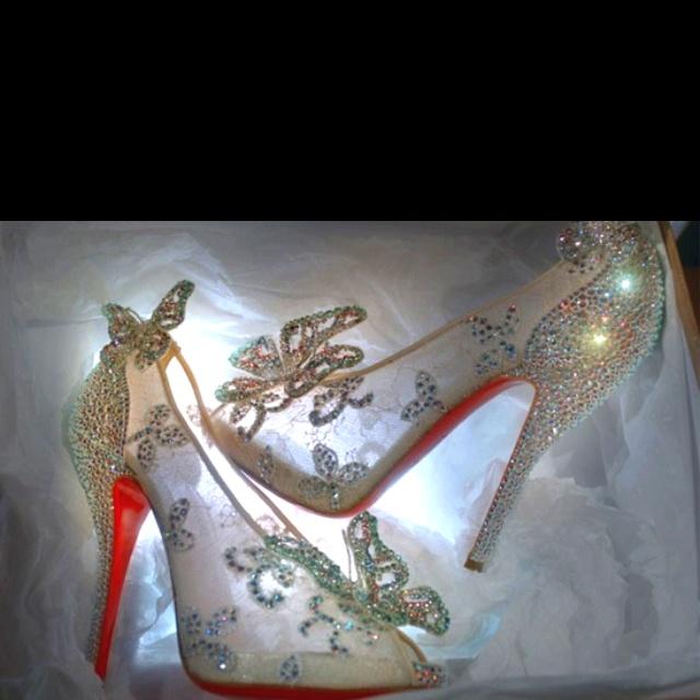 Louis Vuitton Cinderella Shoe! Want!   One Day   Pinterest ...