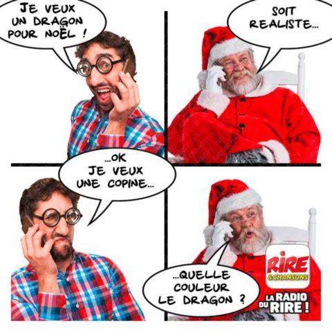 Un bon conseil du Père Noël - Les images drôles de Rire & Chansons