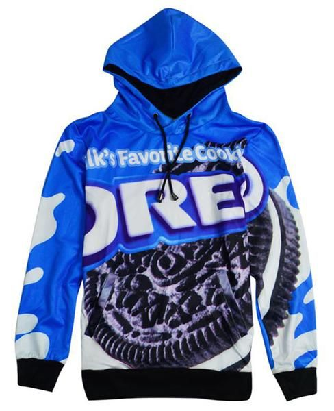 Oreo's are Milk's Favorite Cookie. Get this item and it could become your favorite sweatpants. You can't go wrong with an All-Over-Print of the Oreo package!