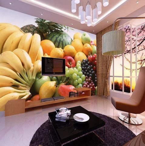 3d Fruit Design Wallpaper Wall Mural Photo Mural Wall Mural Design