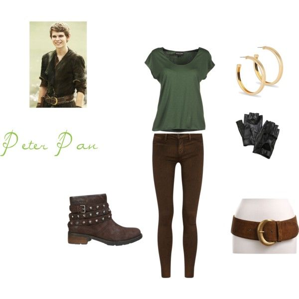 """Once Upon A Time~ Peter Pan"" by lizzie-jane on Polyvore"