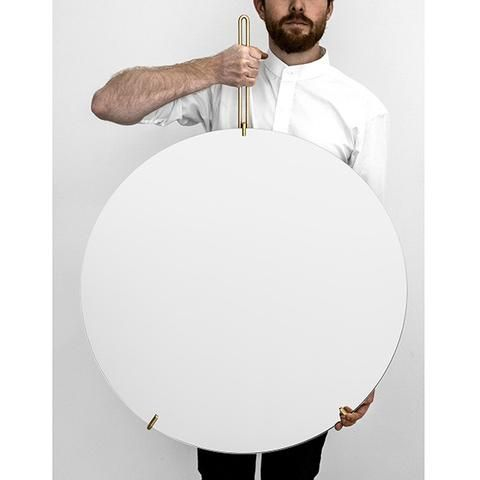 Wall Mirror - 70 cm - Brass