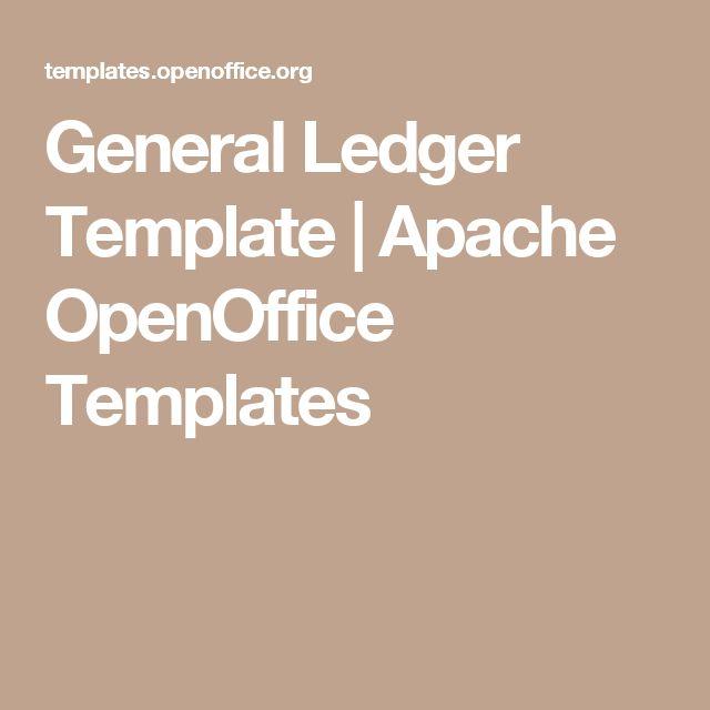 Více než 25 nejlepších nápadů na Pinterestu na téma Openoffice - general ledger template