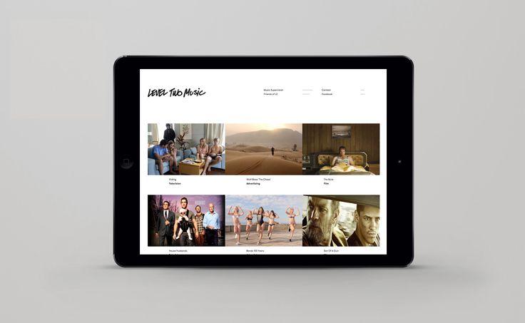Level Two Music Website - Freelance Melbourne Digital Website Designer, UI Designer, Responsive Website Designer Melbourne