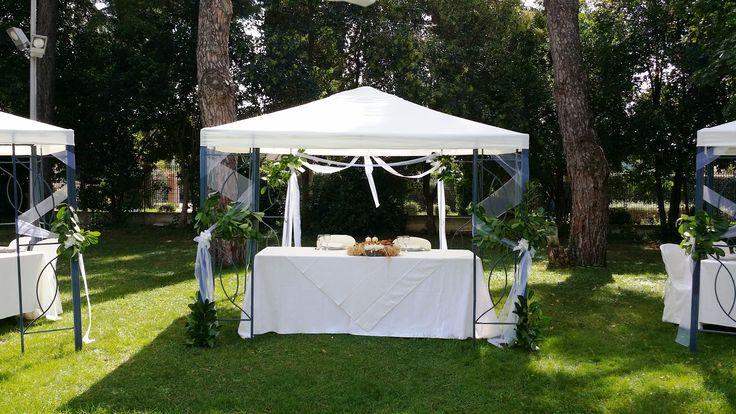 Allestimento Giardino per Matrimoni ad #Assisi