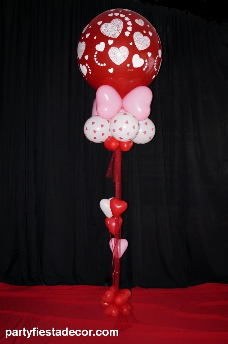 86 best images about party fiesta balloon decor balloons for Balloon decoration for valentines day