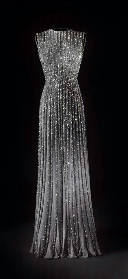 Beautiful, Translucent, rhinestoned dress