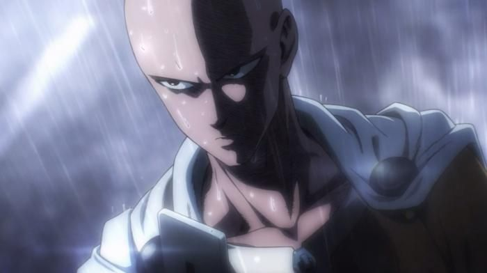 Serious Saitama One Punch Man OnePunch Man Pinterest Discover more ideas about Saitama
