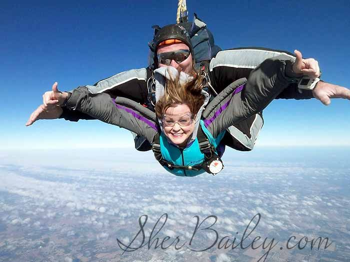 Skydiving for the first time - what it's like!