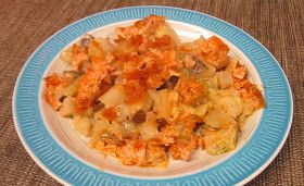 Debbi Does Dinner... Healthy & Low Calorie: Buffalo Chicken & Potato Casserole