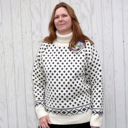 Norwool rullekrave sweater