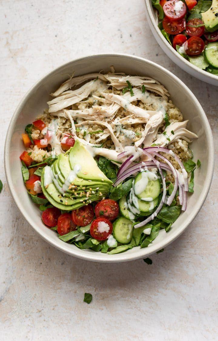 Ranch Chicken Quinoa Salad