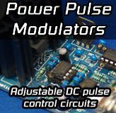 Pulse Width Modulation (PWM) power control circuits