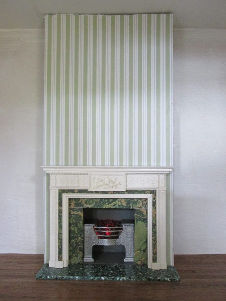 how to make a cardboard chimney fireplace