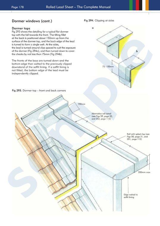 Flat Roof Dormer Construction Details