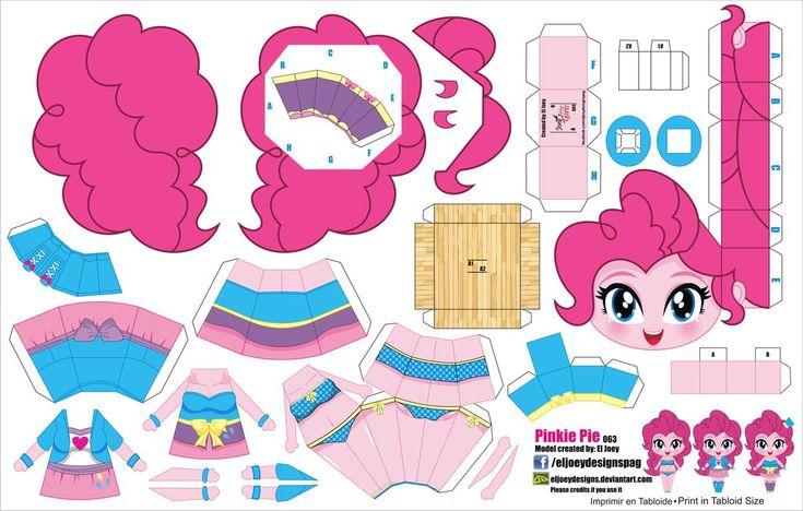Pinkie Pie Equestria Girls (JCG 063) by ELJOEYDESIGNS.deviantart.com on @DeviantArt