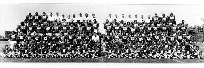 The 1974 Oklahoma Football Team Picture at Oklahoma Sooner Photos