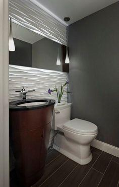 Si estás pensando en reformar tu baño, este tip te será de gran inspiración. #decorar #baños #Decoracionbaños