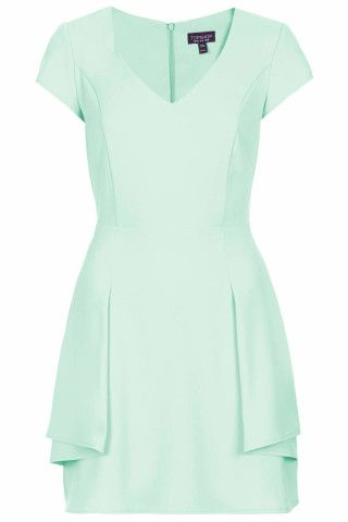 Peplum Fit and Flare Dress