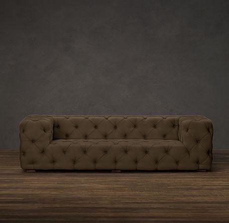 Soho Tufted Upholstered Sofas | Sofas | Restoration Hardware