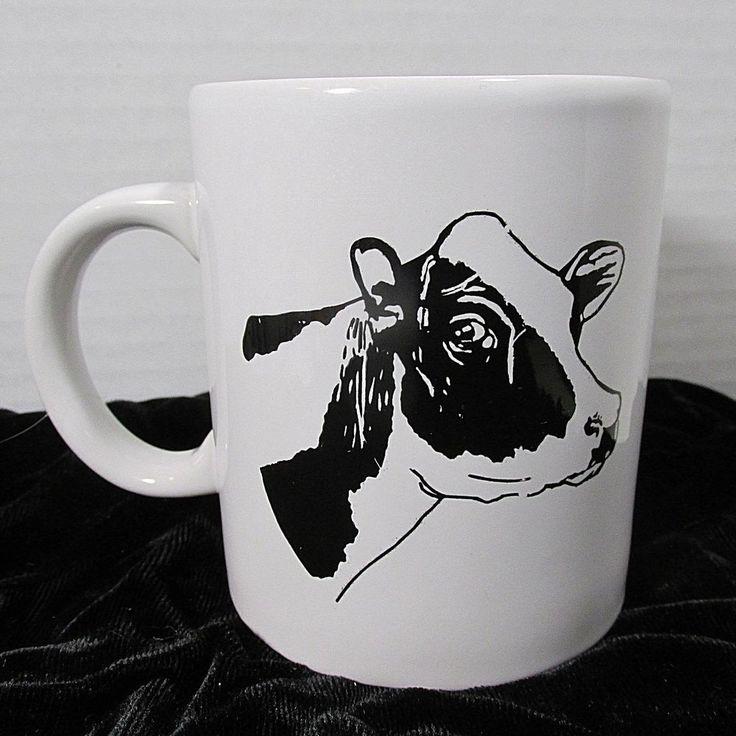 Cow Coffee Tea Mug  SOMEONE WHO IS UDDERSTANDING Black White Holstein Milk Cow #holstein #coffeetime #cows