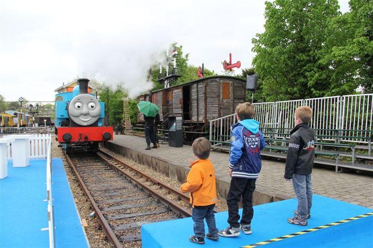 Thomas weekend 2013 Spoorwegmuseum Utrecht #Railwaymuseum #Holland